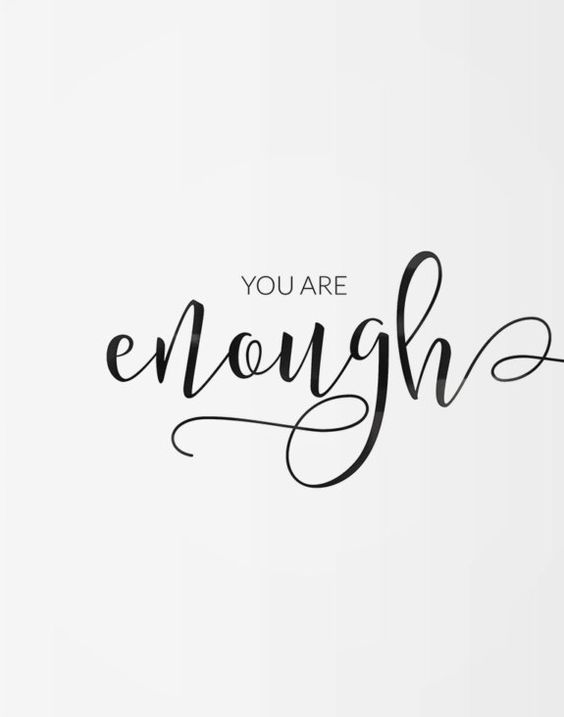 Being_You_Is_Enough