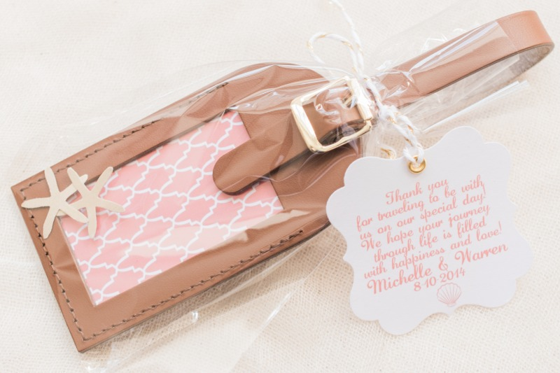 Custom Wedding Favor Tags – From Loves Travels Tags
