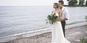 Beach Water Colour Published In Elegant Wedding Magazine