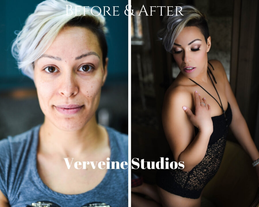 Why The Before & After Shot Is So Important - Boudoir Photographers