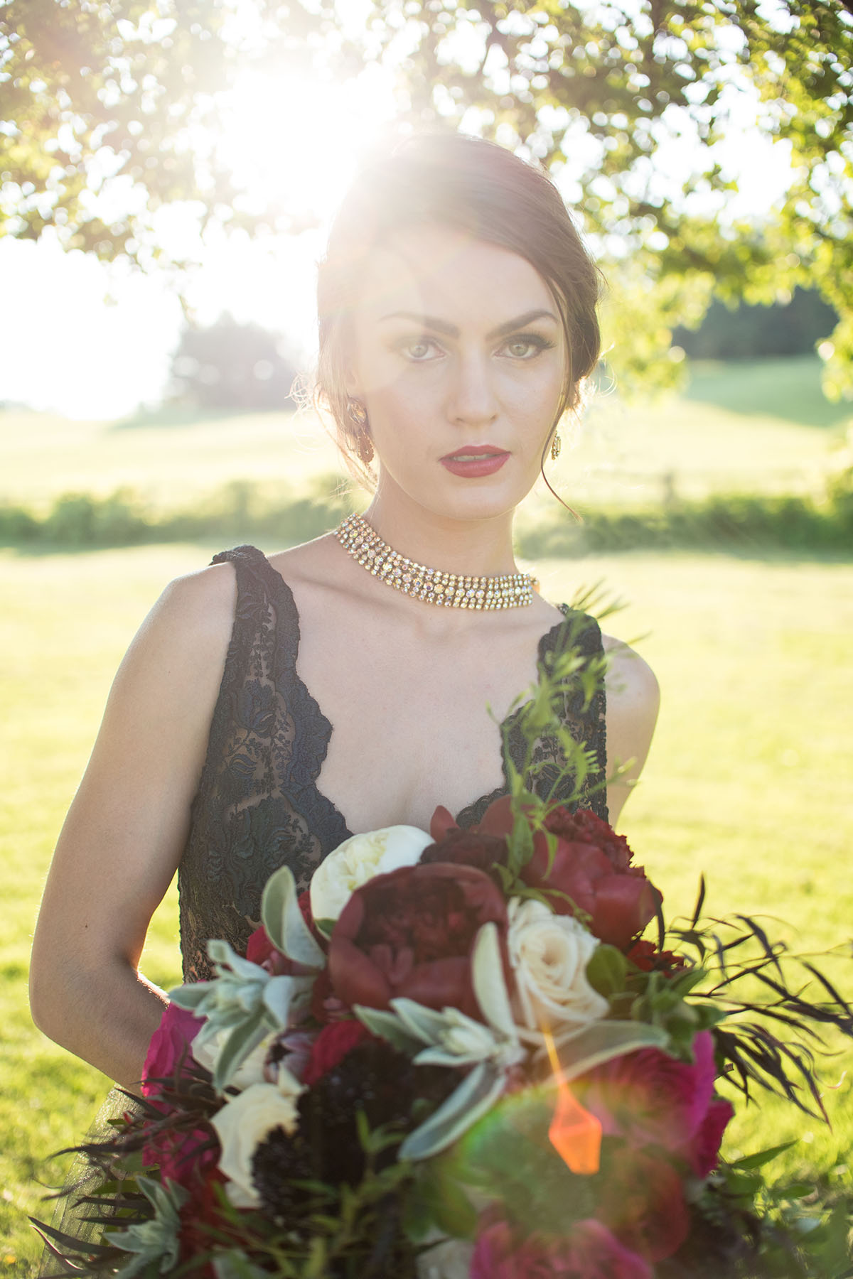 Berry Toned Wedding Inspiration – Published on The Perfect Palette Wedding Blog