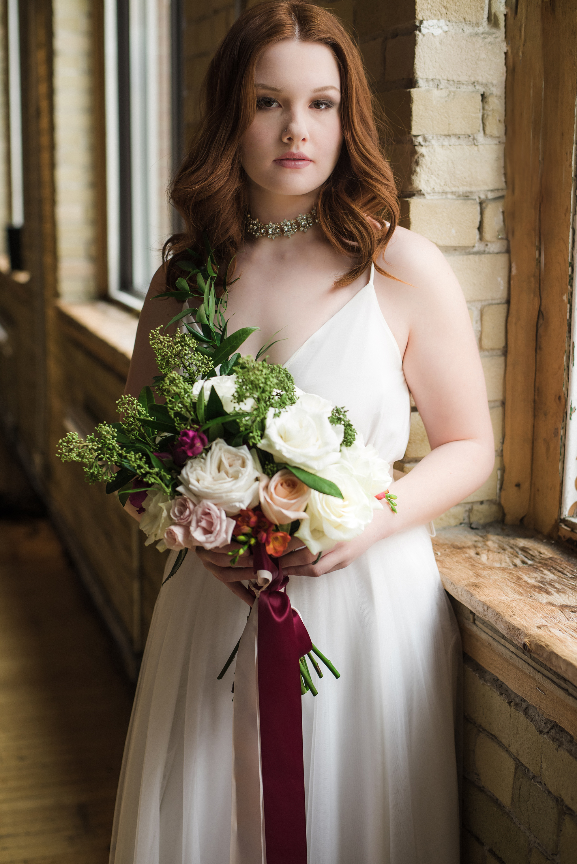 Bride_Getting_Ready_Flowers_Bridal_Portrait_Verveine_Studios