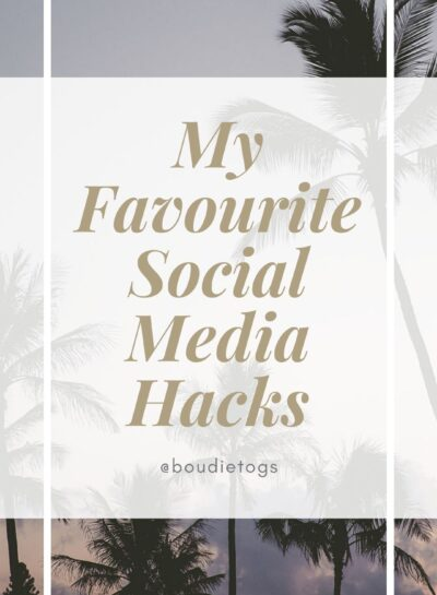 My Favourite social media hacks - Education for boudoir photographers